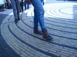 labyrint lopen